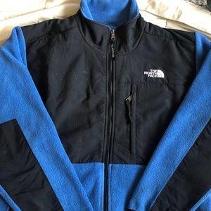 Blue North Face Fleece